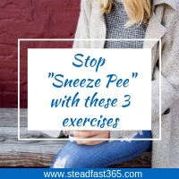 Moms can fix sneeze pee now with these 3 simple exercises for stress incontinence