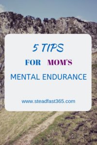 Quick tips to help new tired moms improve mental health