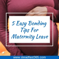 Working moms can maximize bonding with baby using these 5 tips. Number 4 is key and often overlooked.