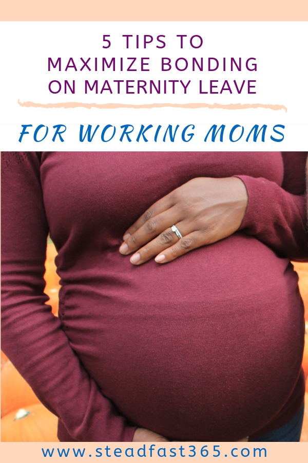 Are you freaking out over not being able to bond enough on a short maternity leave? Bonding can be something you need to work on. Maternity leave goes by so quickly no matter how much time you have. Here are 5 easy tips you can do on your maternity leave to maximize your bonding experience. Tip number 4 may surprise you, but it is such a necessity to really make this work.