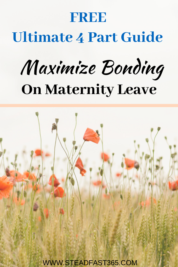 Maternity leave is always too short. Just when you feel like you're getting to know you're baby it's time to get back to work. Use this FREE 4 part guide to squeeze in precious bonding and mental recovery. In your guide you will get scripted answers to FAQs of working moms, 12 bonding methods with explanations, 20 self care tips beyond getting your nails done and a 5 step stress reducing process to returning to work plus more! Yep, more free supportive follow up. Get your copy while it's still available.