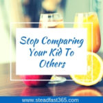 Stop comparing kids to each other