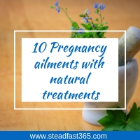Pregnancy ailments treated naturally