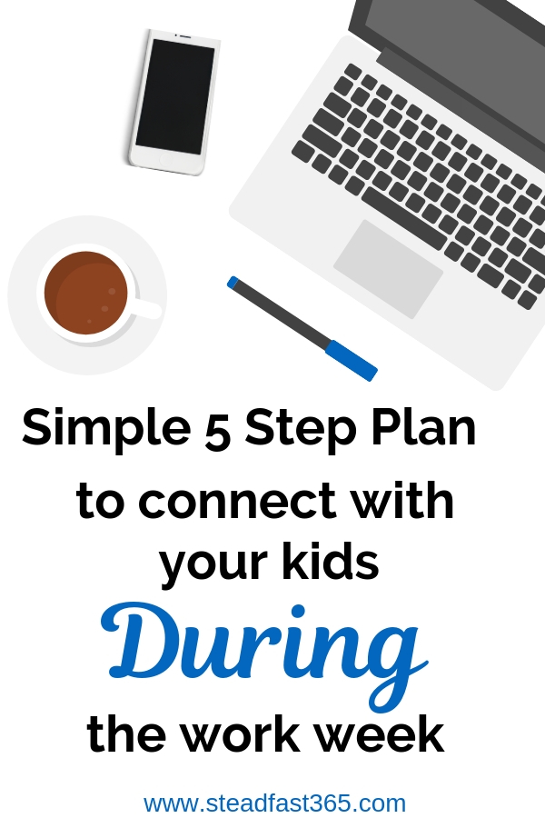 Working moms get weekends and a few hours after the work day to bond with their kids. This is how we embrace the fact that it's quantity over quality when it comes to time. Here is a simple 5 step plan to get more quality time during the work week to spend with your kids. Learn how to create continuous habits during the work week.