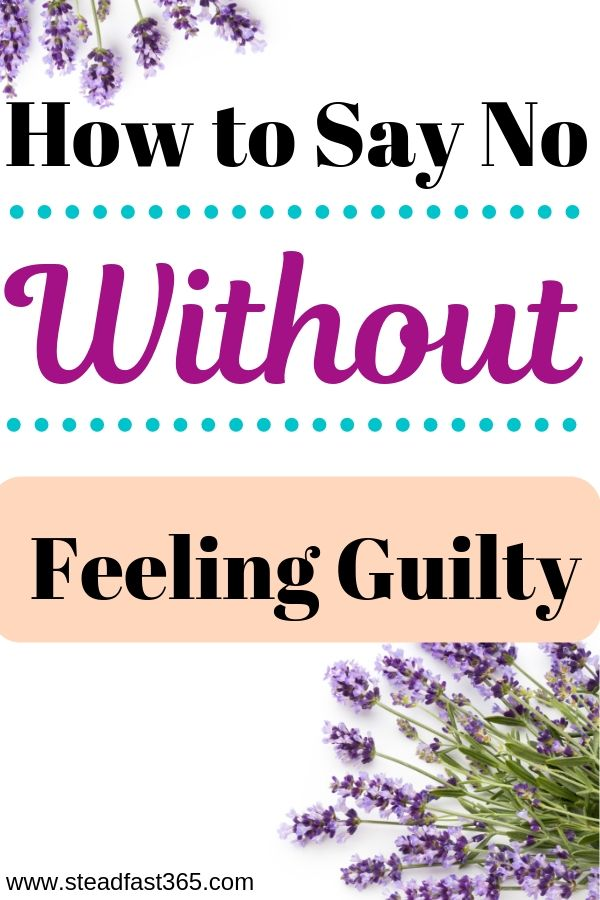 Do you feel guilty when saying no and then your schedule gets swamped? Maybe you're struggling with the guilt of saying no and setting boundaries as a mom but you don't realize it. This is typically the case with moms. We can't always take on whatever is thrown at us. Studies show that time management gives you more free time. It starts with saying no and setting boundaries. Here is a guilt free approach for working moms.
